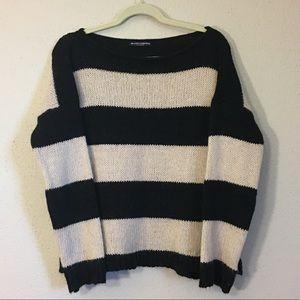 Brandy Melville Striped Wool Blend Sweater